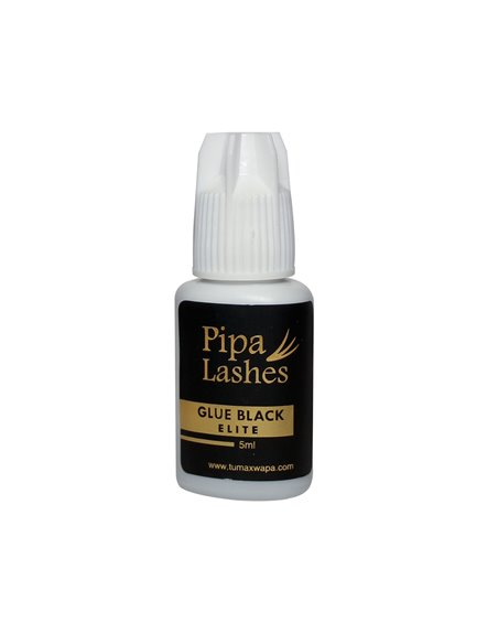 Pegamento Pestañas Elite Black 5 ml.