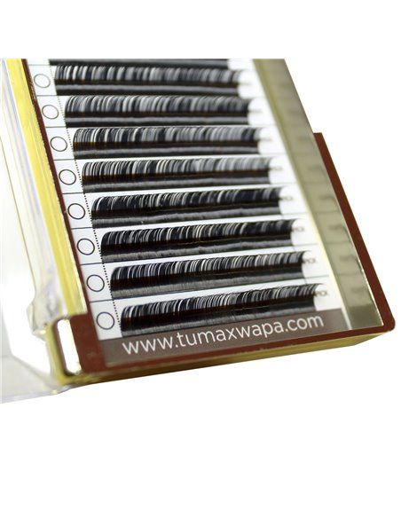 Pipa Lashes 0,05 mm. D Curl